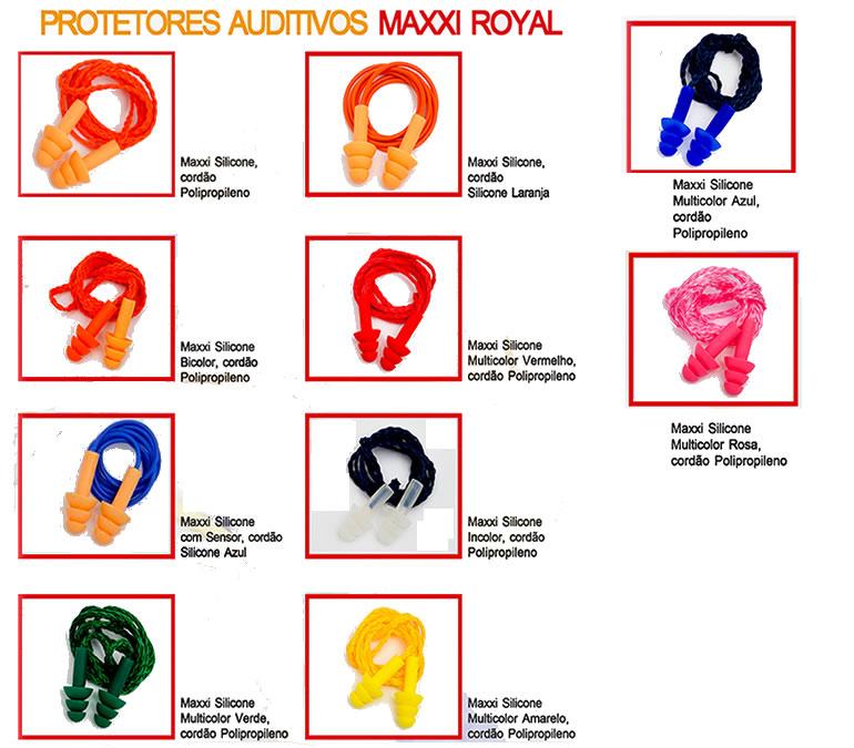 e3a0f0a0110e9 Protetores Auriculares Maxxi Royal